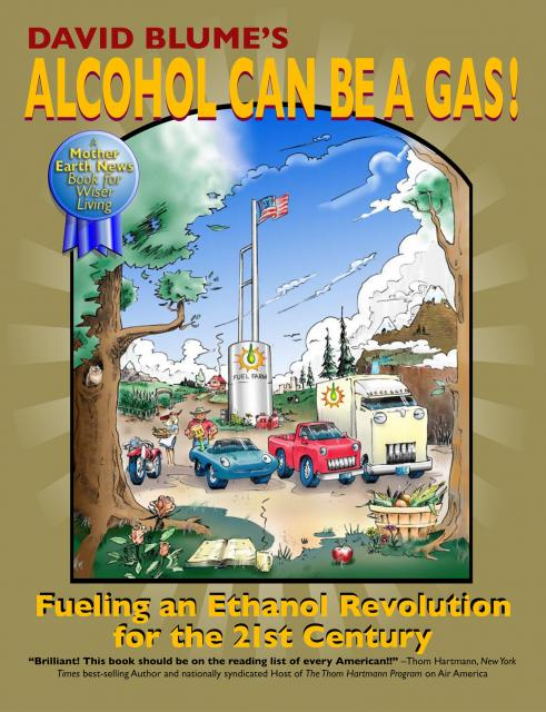 Alcohol Can Be A Gas cover